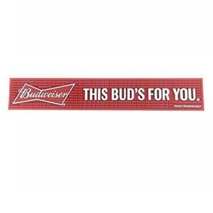 """This Bud's For You"" Bar Mat Spill Drip Mat"